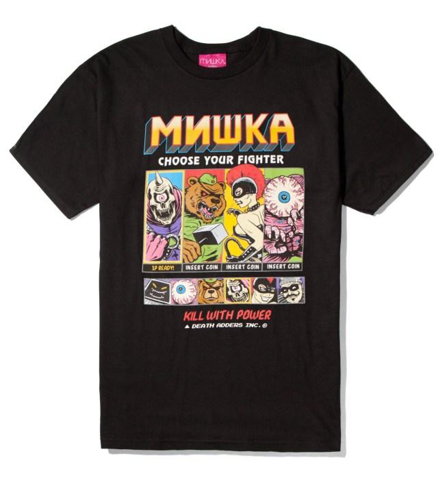 Mishka Black Choose Your Fighter T-Shirt