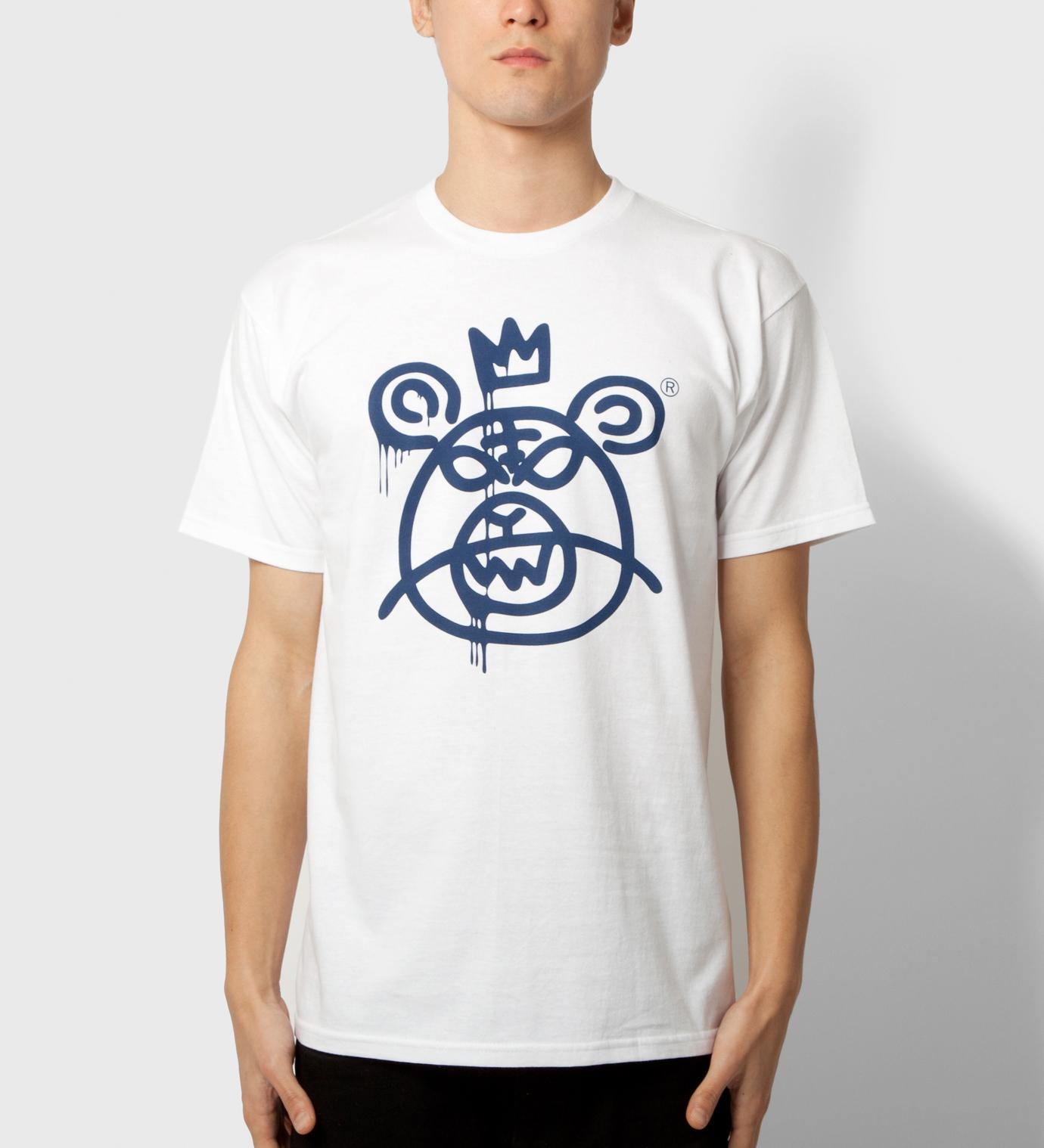 Mishka White Bearmop T-Shirt