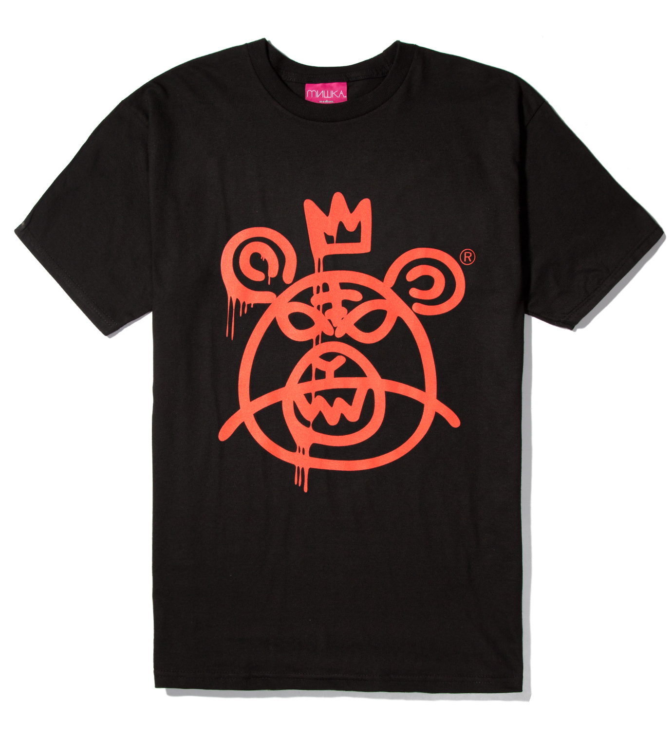 Mishka Black Bearmop T-Shirt