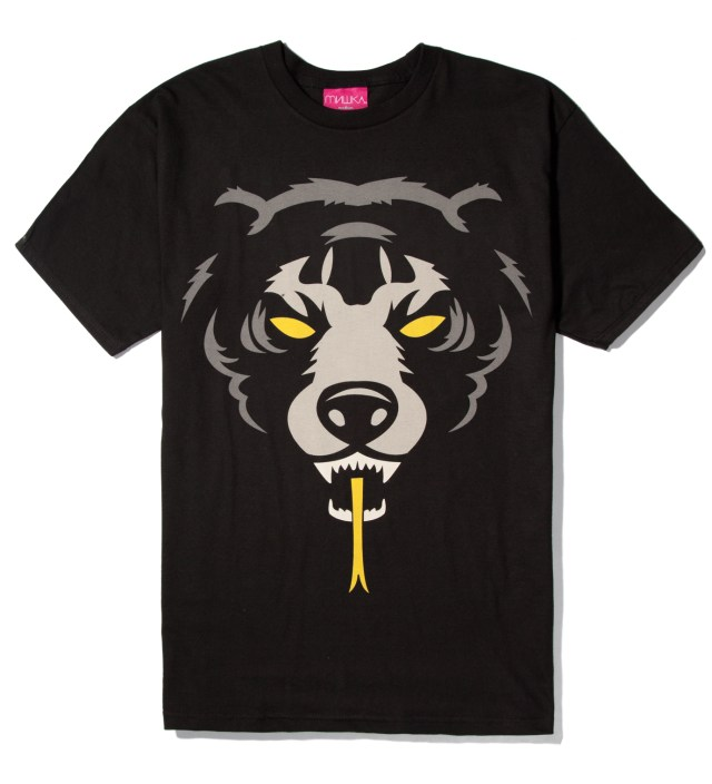 Mishka Black Oversize Adder T-Shirt