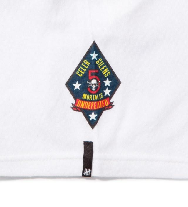 Undefeated White UND Script T-Shirt