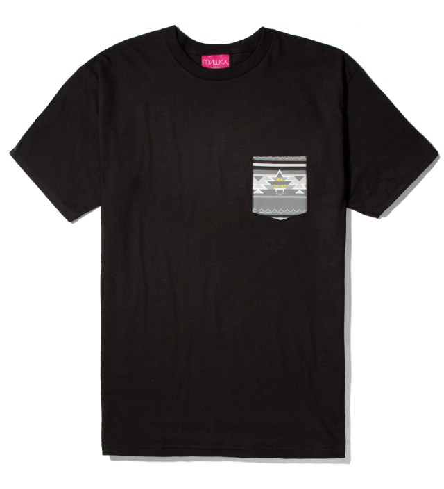 Mishka Black Vision Quest Pocket T-Shirt