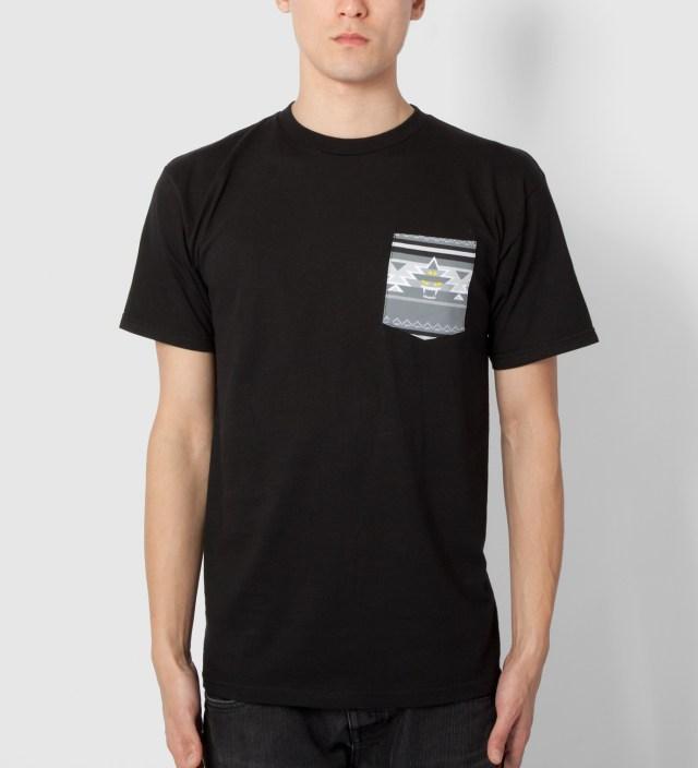 Mishka Black Vision Quest Pocket T-Shirt