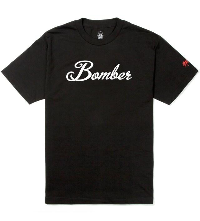 SSUR Black Bomber T-Shirt