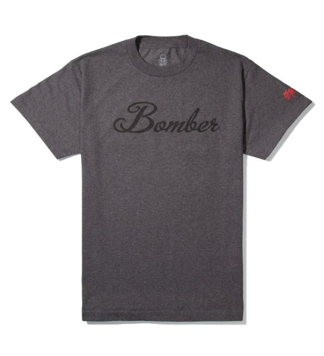 SSUR Charcoal Bomber T-Shirt