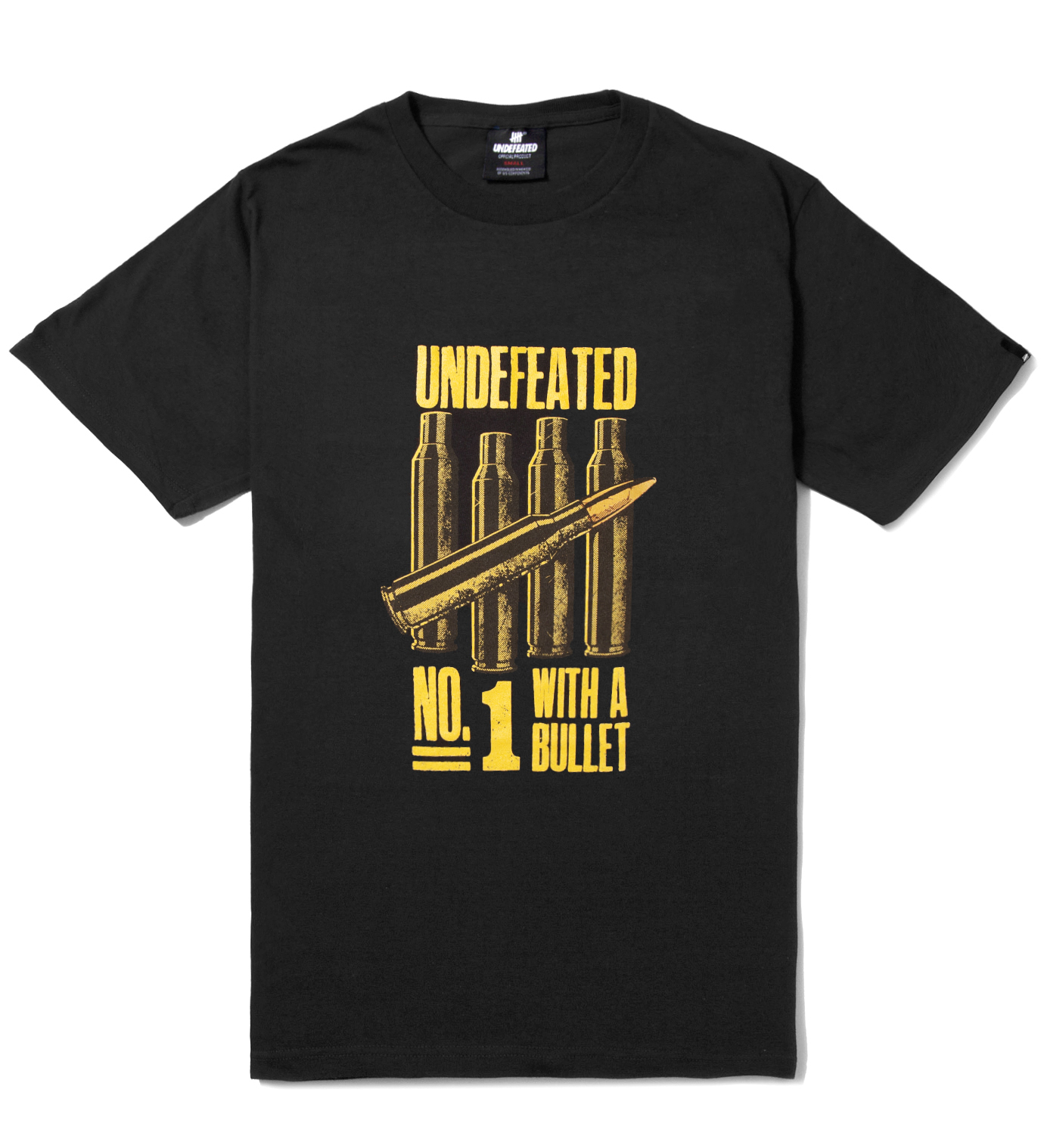 UNDEFEATED Black No.1 Bullet T-Shirt