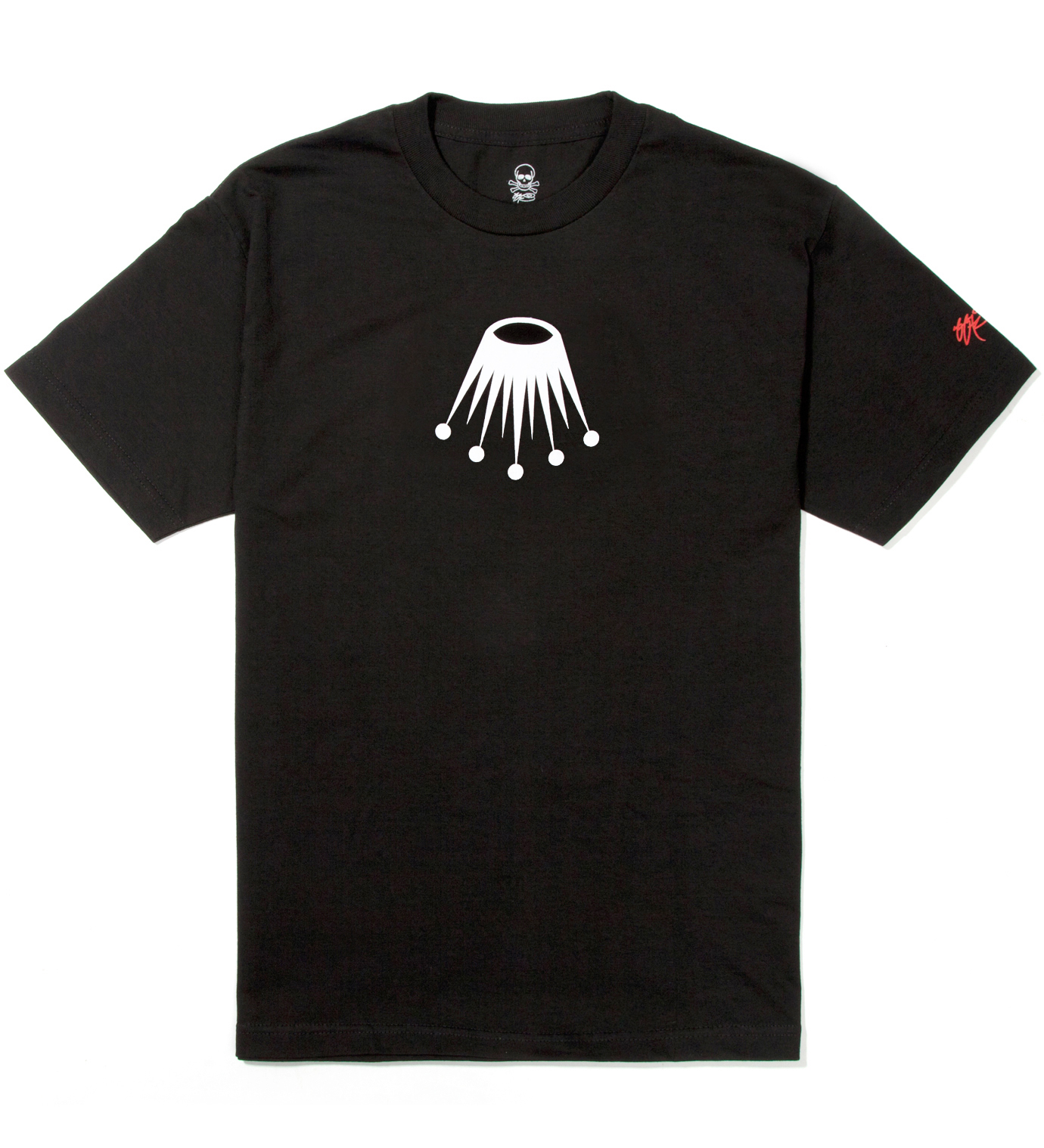 SSUR Black Lex Crown T-Shirt