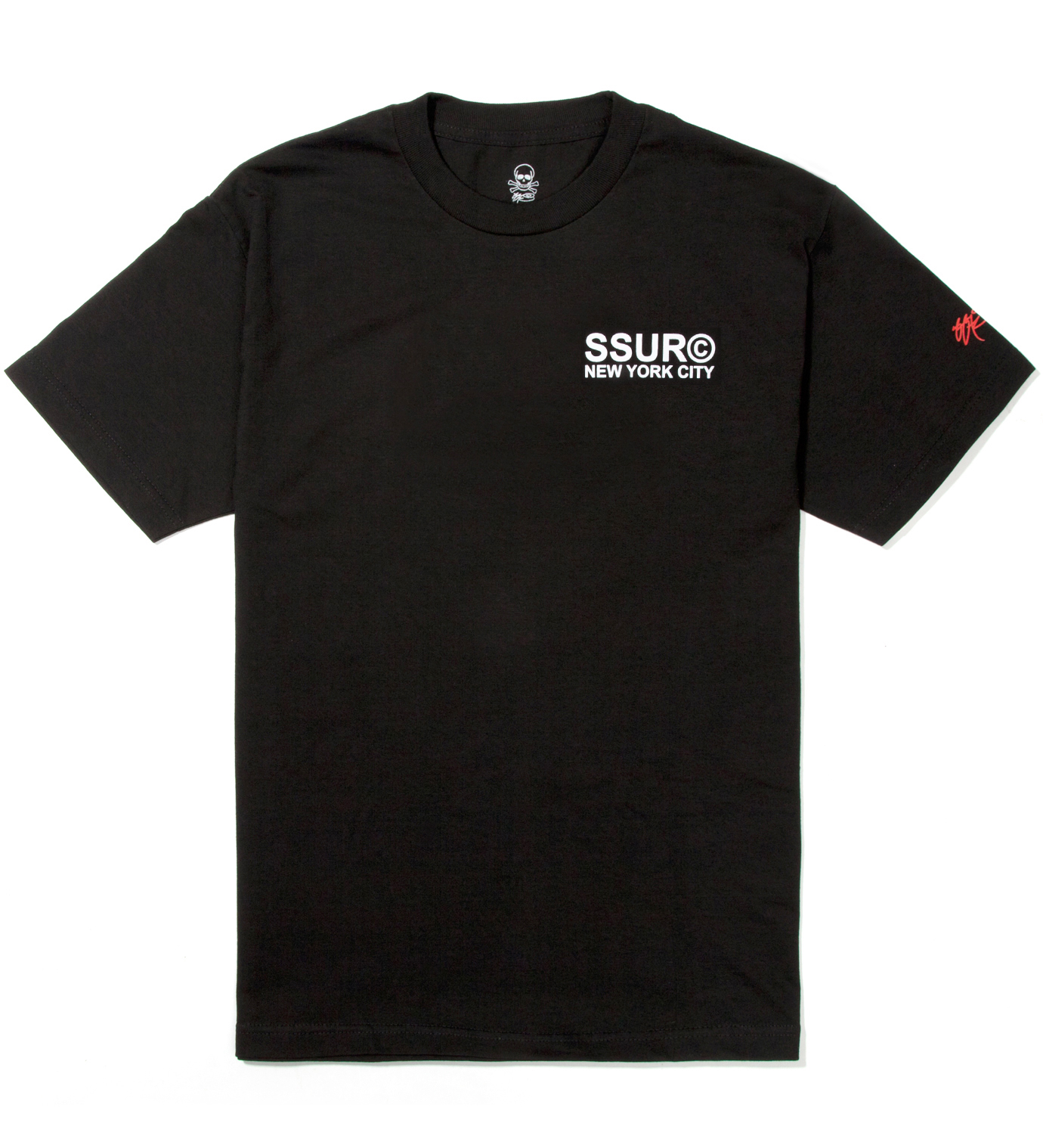SSUR Black Fair Warning T-Shirt