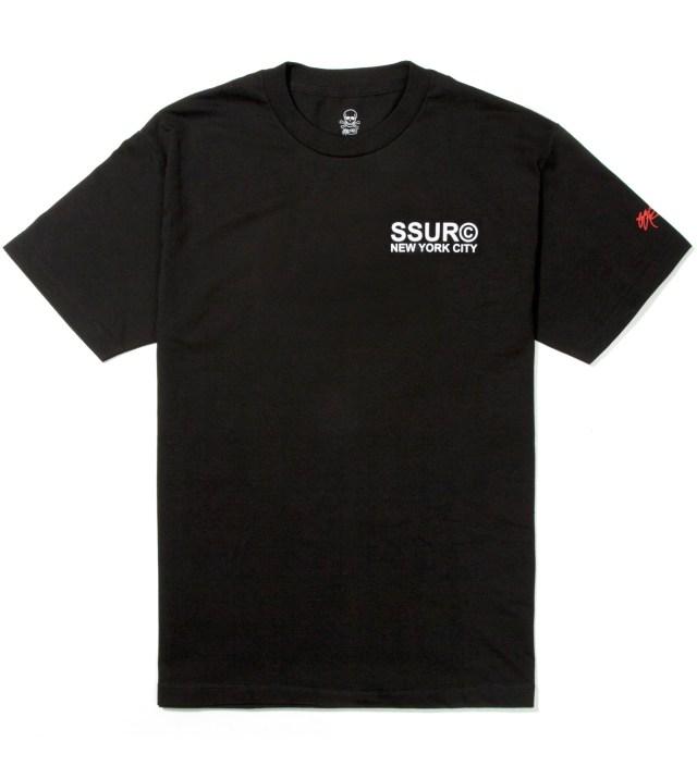 SSUR Black Fair Warning T-Shirt