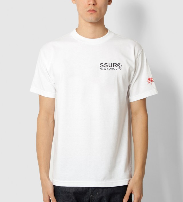 SSUR White Fair Warning T-Shirt