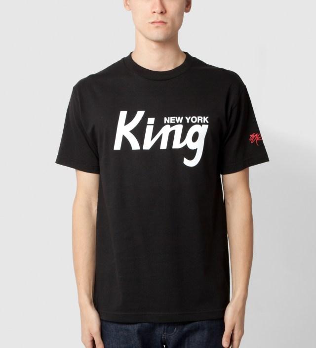 SSUR Black New York King T-Shirt