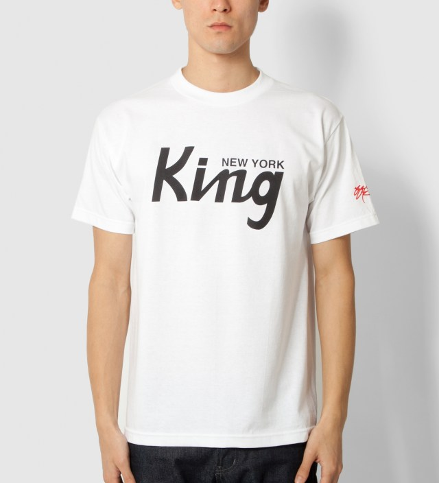 SSUR White New York King T-Shirt