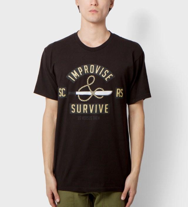 Us Versus Them Black Jungle Cruise T-Shirt