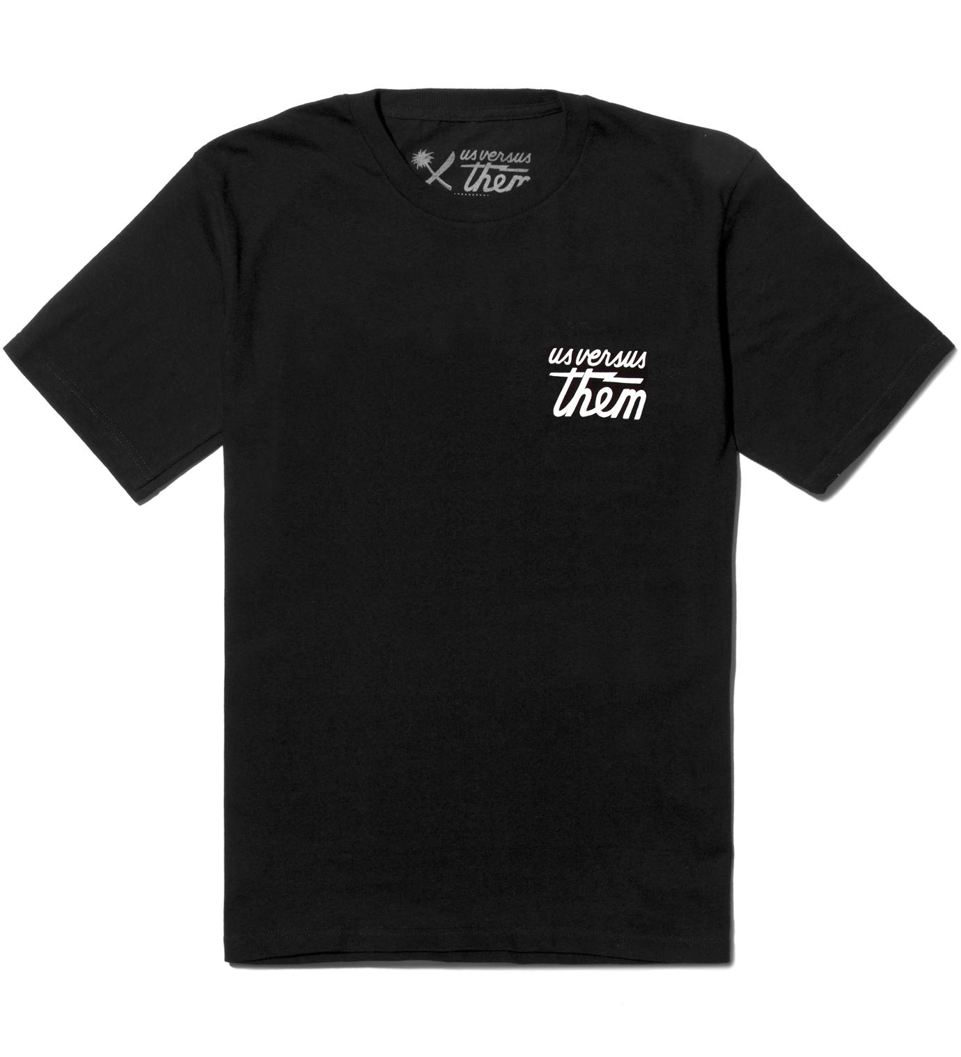 Us Versus Them Black Indivisible T-Shirt