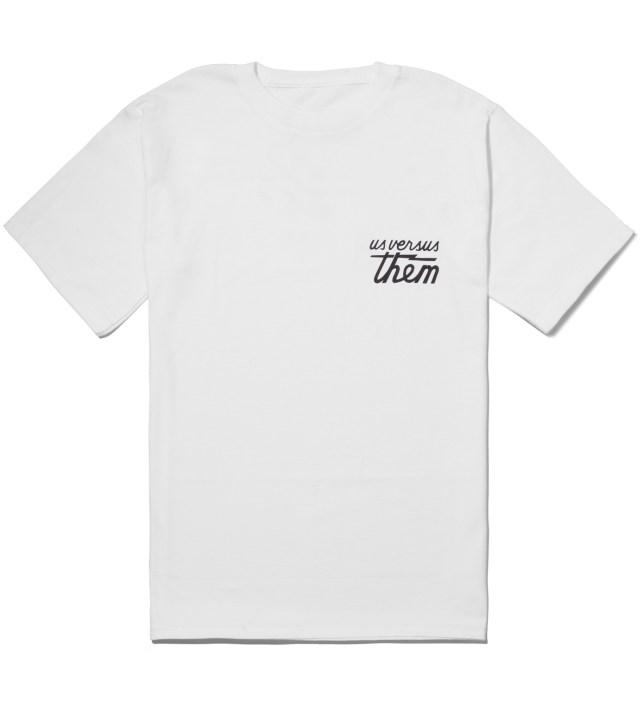 Us Versus Them White Indivisible T-Shirt
