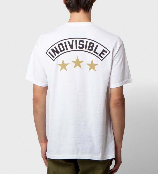 Us Versus Them White Indivisible T-Shirt