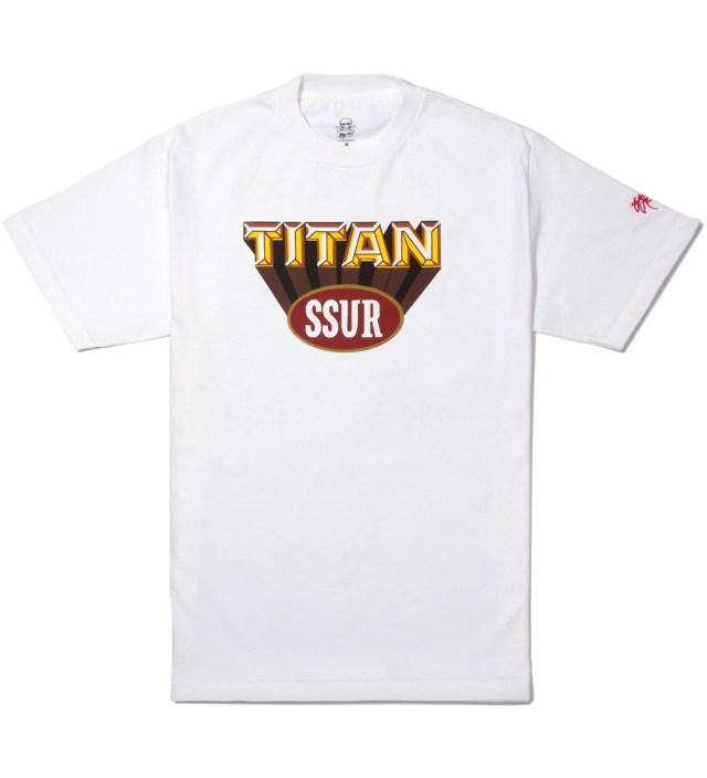 SSUR White Titan T-Shirt