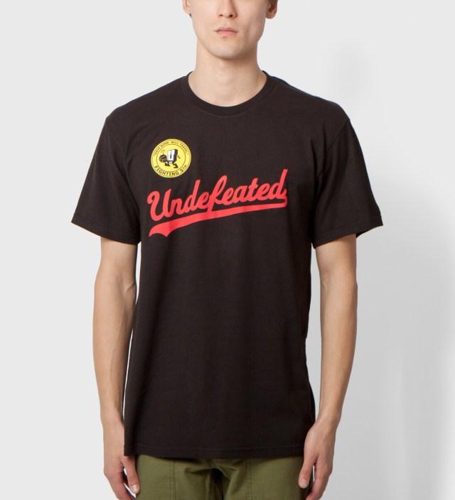 UNDEFEATED Black UND Script T-Shirt