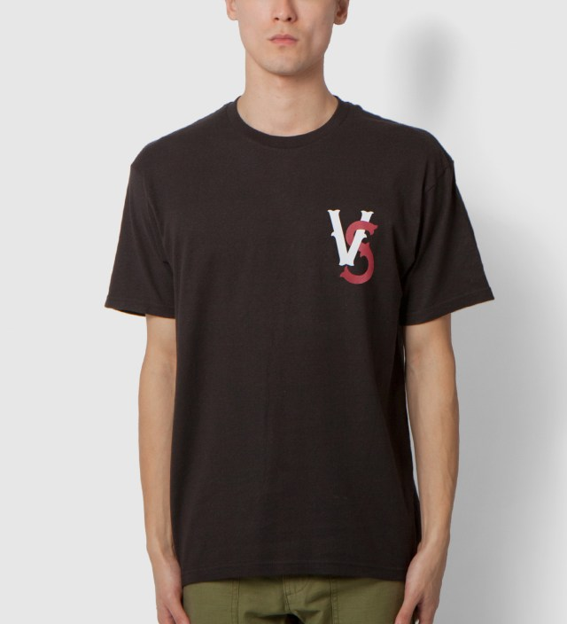 Us Versus Them Black Pennant Race T-Shirt