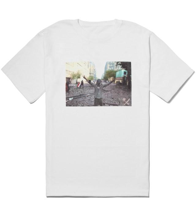 Us Versus Them White Anon T-Shirt