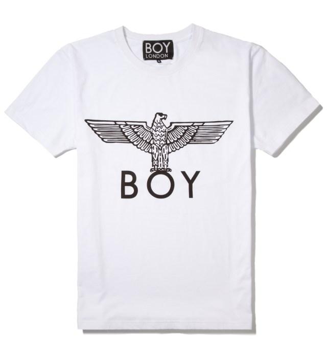 BOY London White/Black Boy Eagle T-Shirt