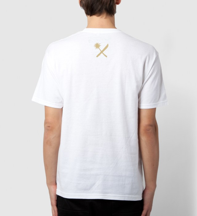 Us Versus Them White Labeled T-Shirt