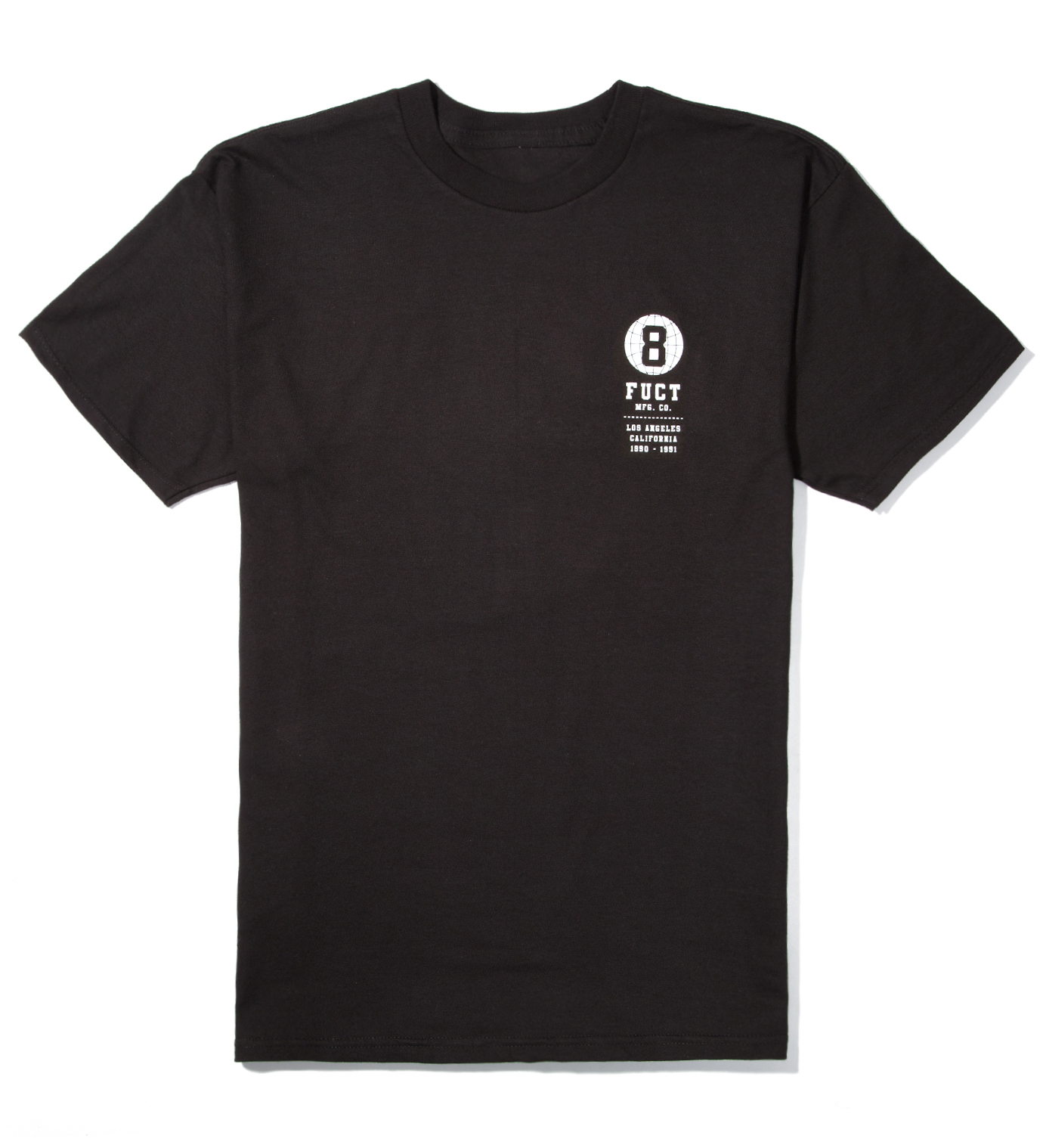 FUCT Black 8 Ball World T-Shirt
