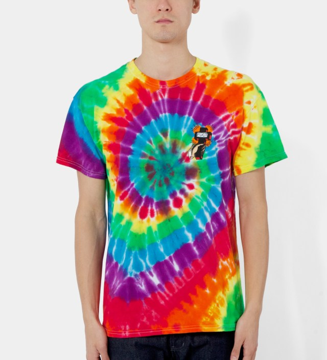 FUCT Tie Dye Pray Now Fry Later T-Shirt