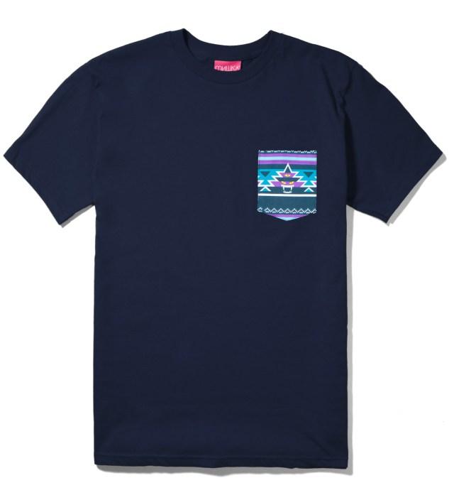 Mishka Navy Vision Quest Pocket T-Shirt