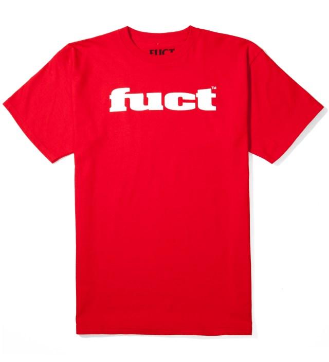 FUCT Red OG Logo T-Shirt