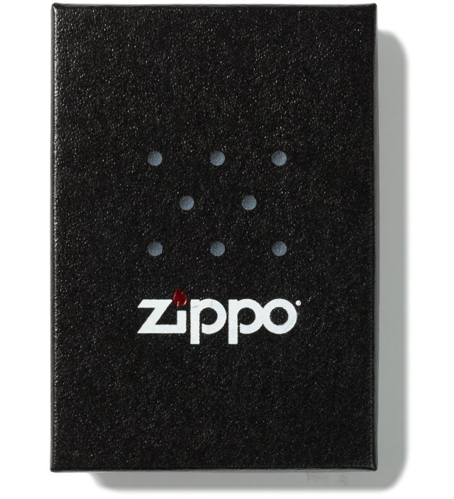 Us Versus Them Silver Zippo Lighter