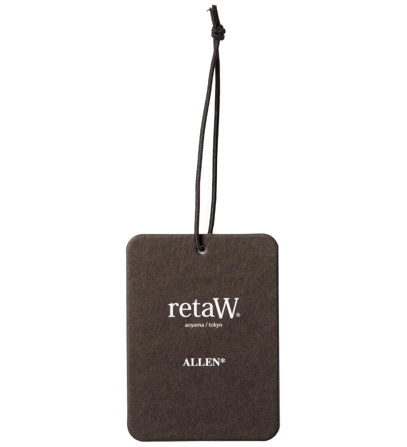 retaW Allen Fragrance Luggage Tag