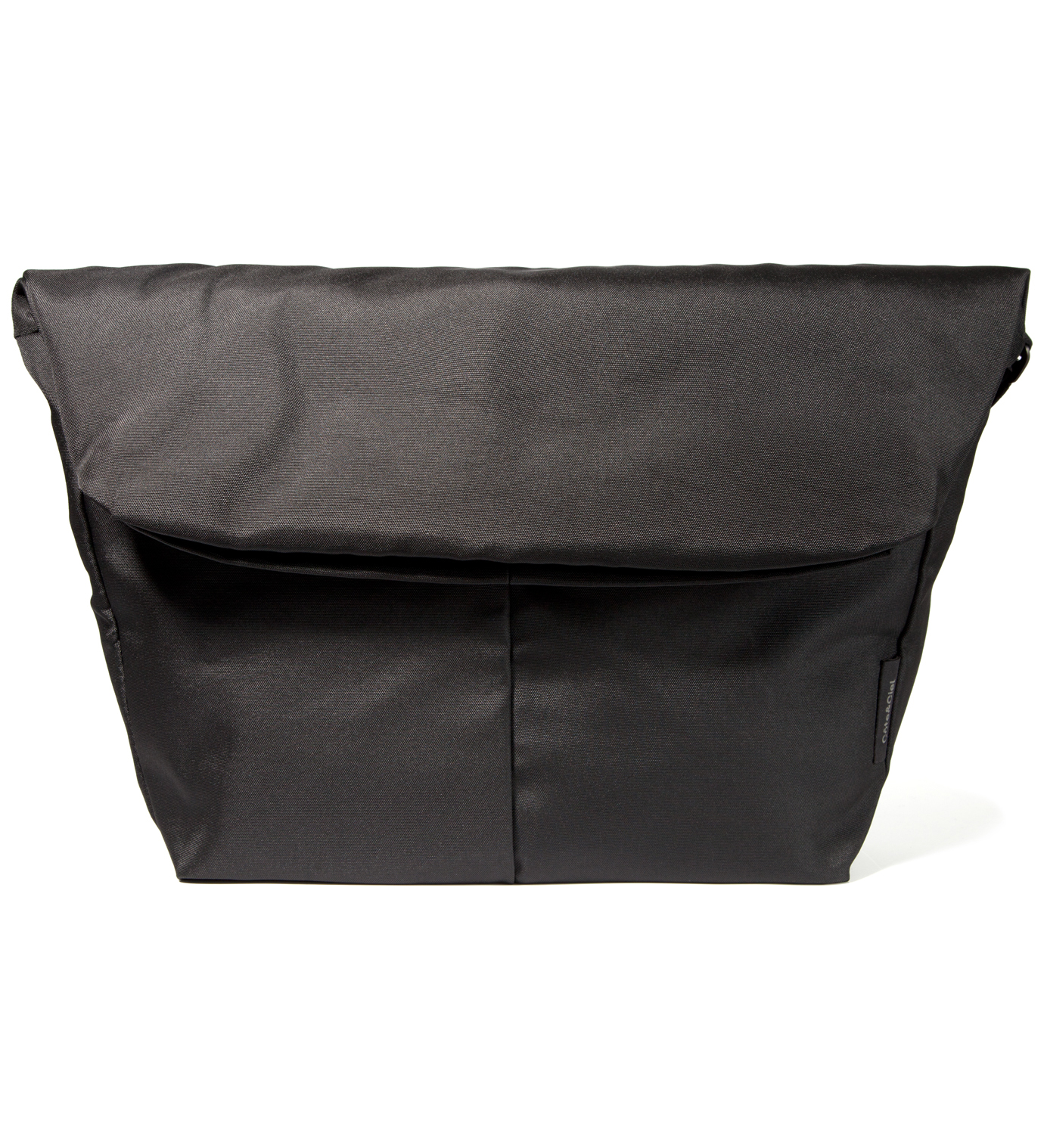 "Côte&Ciel Black 15"" Laptop Messenger Bag"