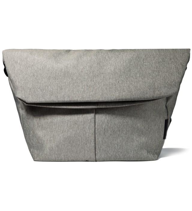"""Côte&Ciel Grey Melange 15"""" Laptop Messenger Bag"""