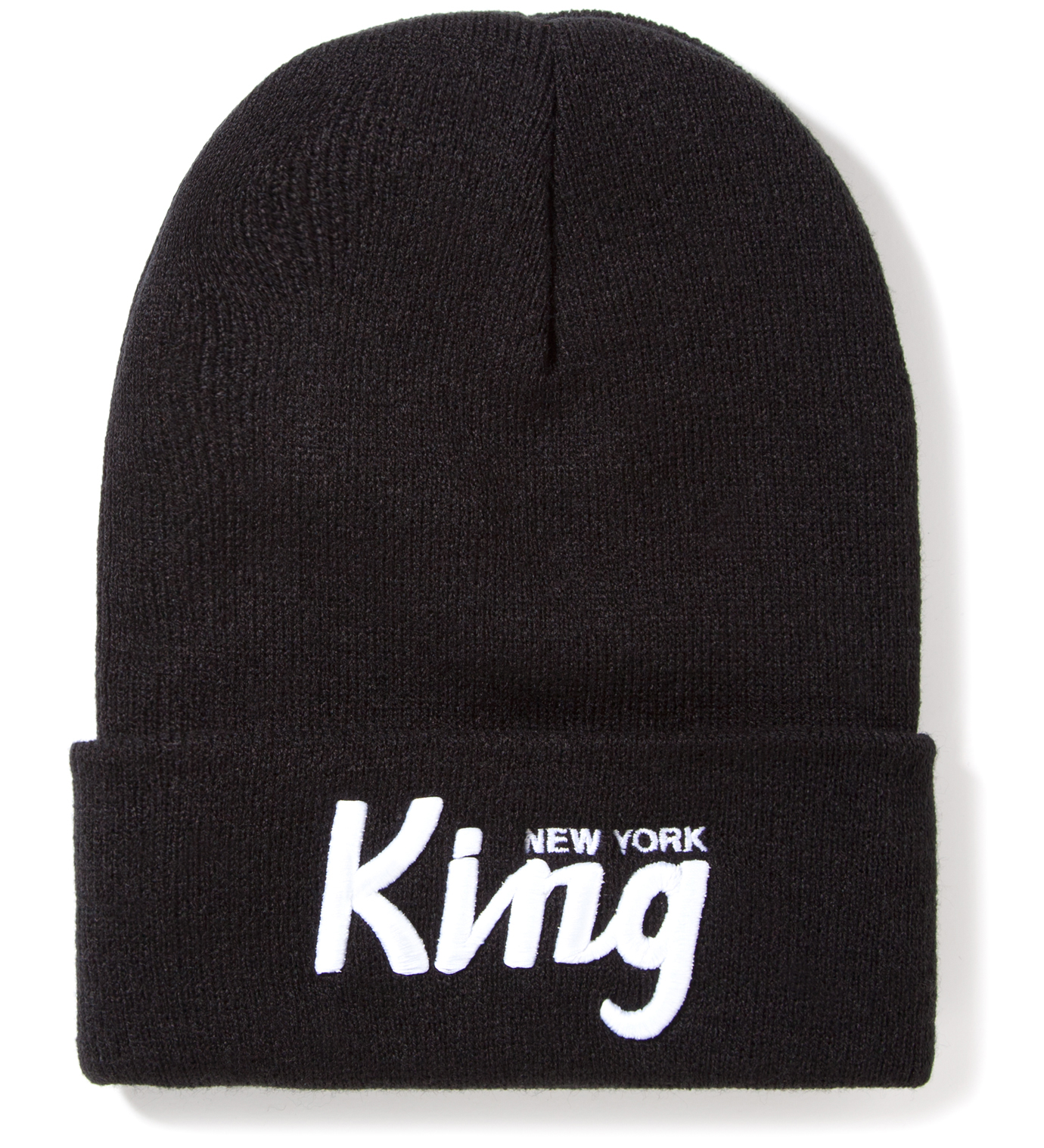 SSUR Black New York King Beanie