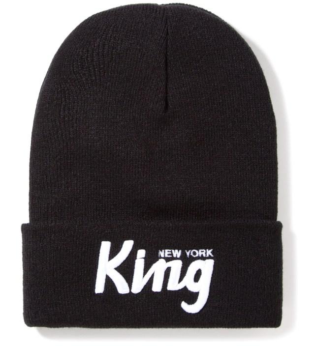 SSUR Black New York King Beanie