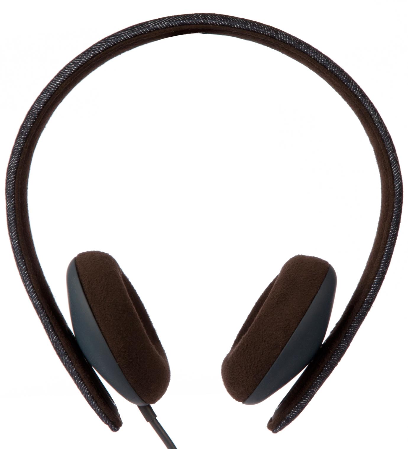 Incase Blue Denim/Black Coffee Reflex Denim Headphones