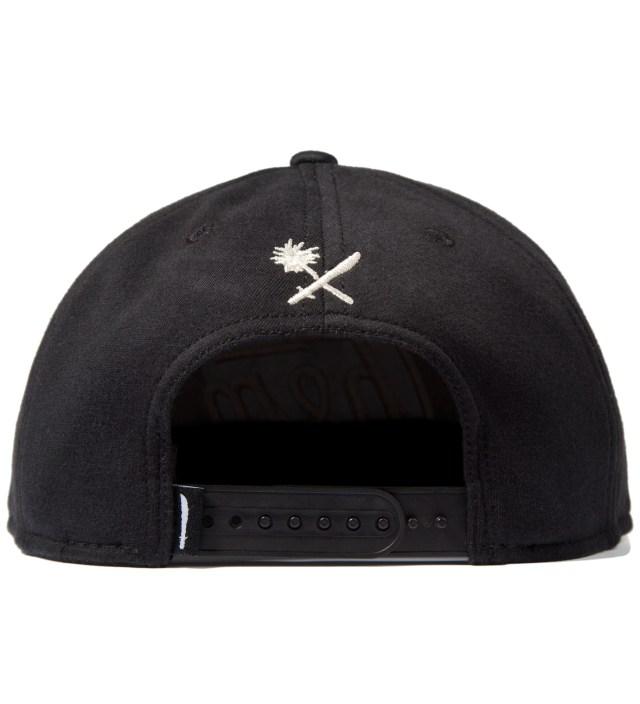 Us Versus Them Black Magnum Fleece Snapback Ballcap