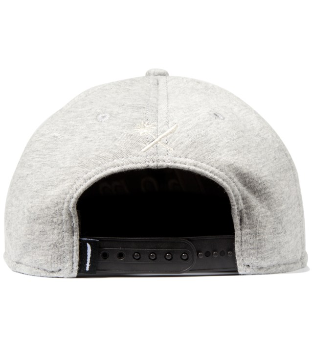 Us Versus Them Heather Grey Magnum Fleece Snapback Ballcap