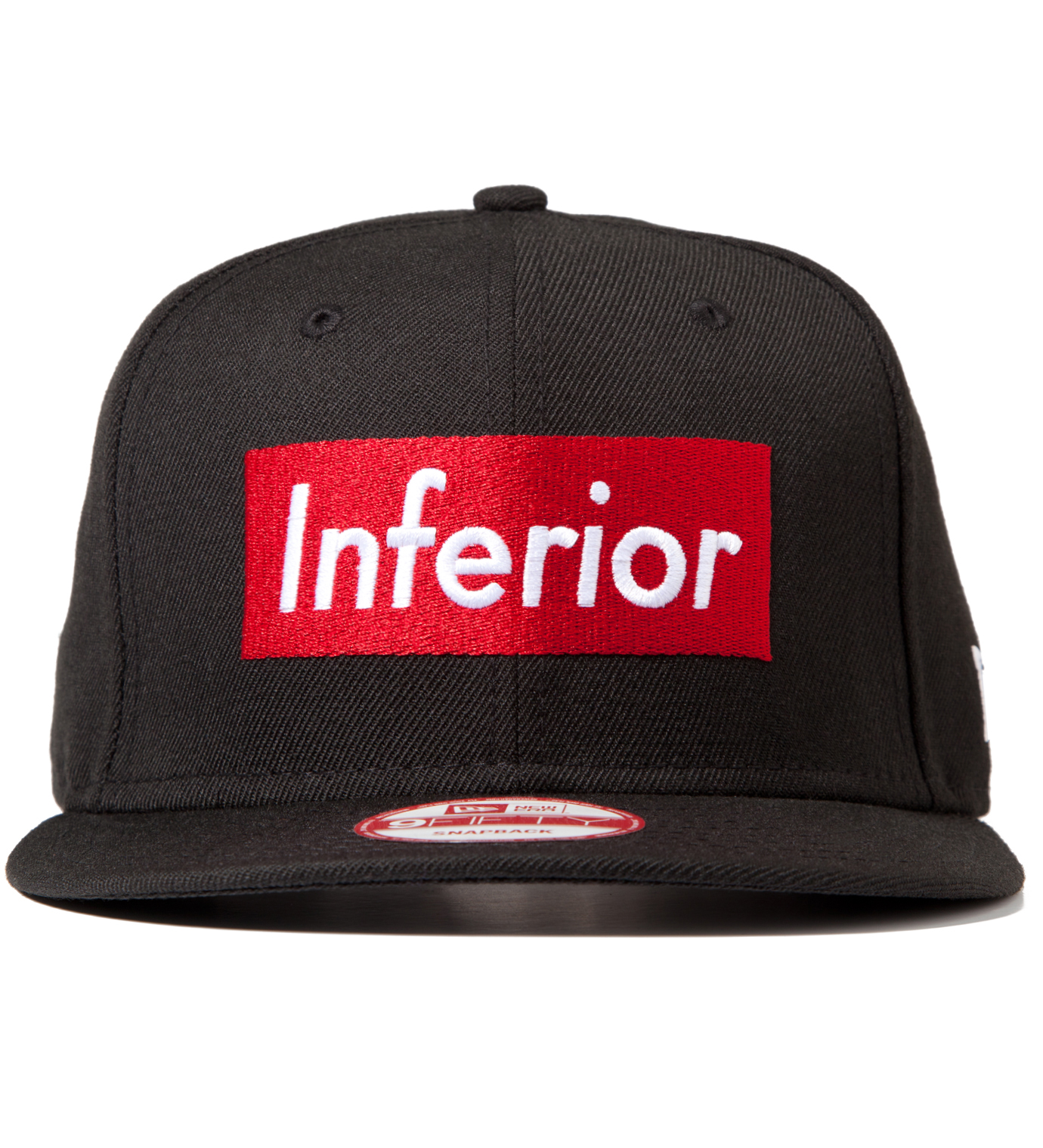 Mark McNairy for Heather Grey Wall Mark McNairy for Heather Grey Wall Black New Era Inferior Snapback Cap