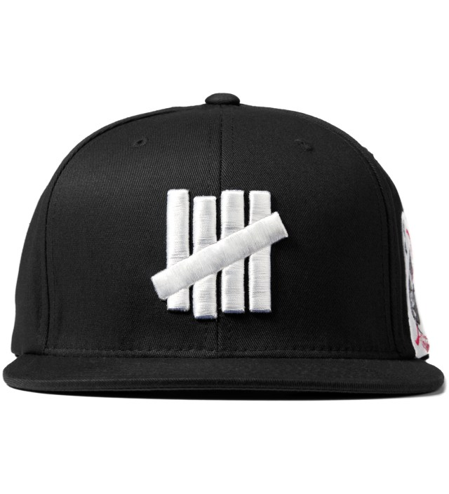 Undefeated Black 5 Strike Ace Starter Cap