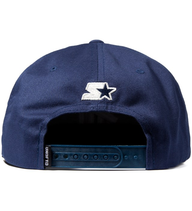 Undefeated Navy 5 Strike Ace Starter Cap