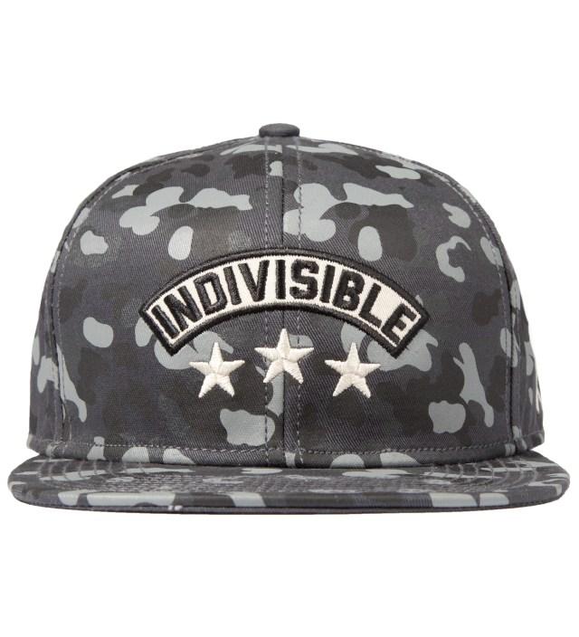 Us Versus Them Black Indivisible Snapback Ballcap