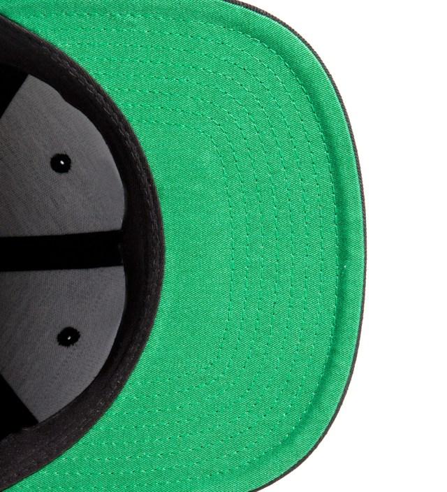 SSUR Black Fair Warning Snapback Cap