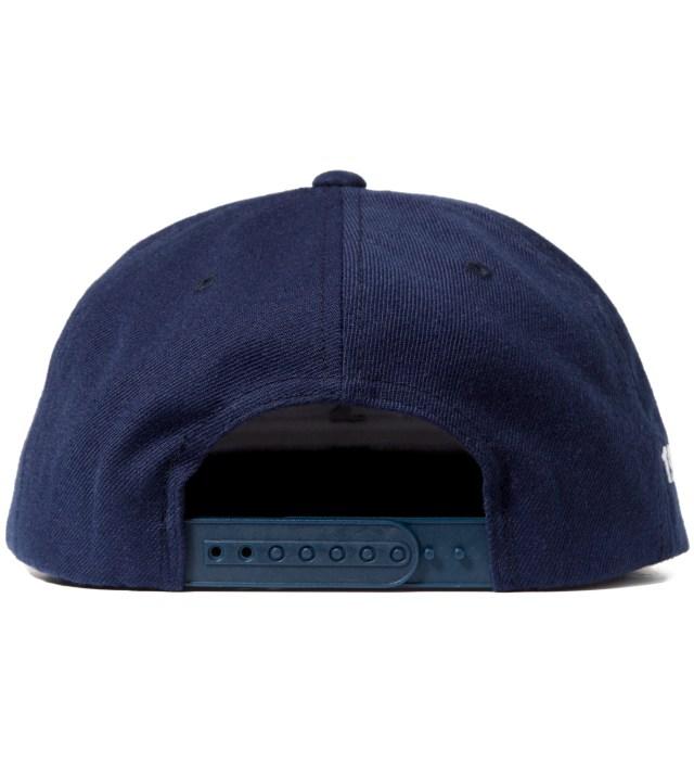 FUCT Navy OG Logo Snapback Cap