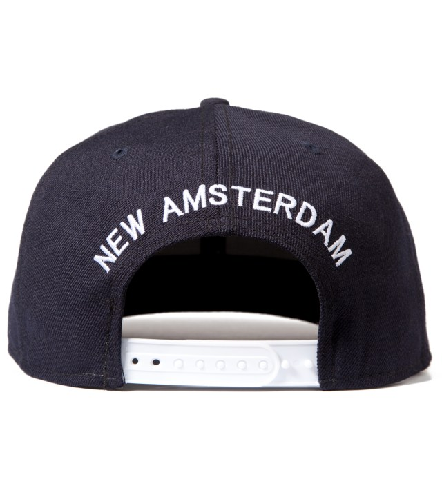 Mark McNairy for Heather Grey Wall Mark McNairy for Heather Grey Wall Navy New Era Inferior Snapback Cap