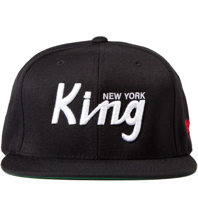 SSUR Black New York King Snapback Cap