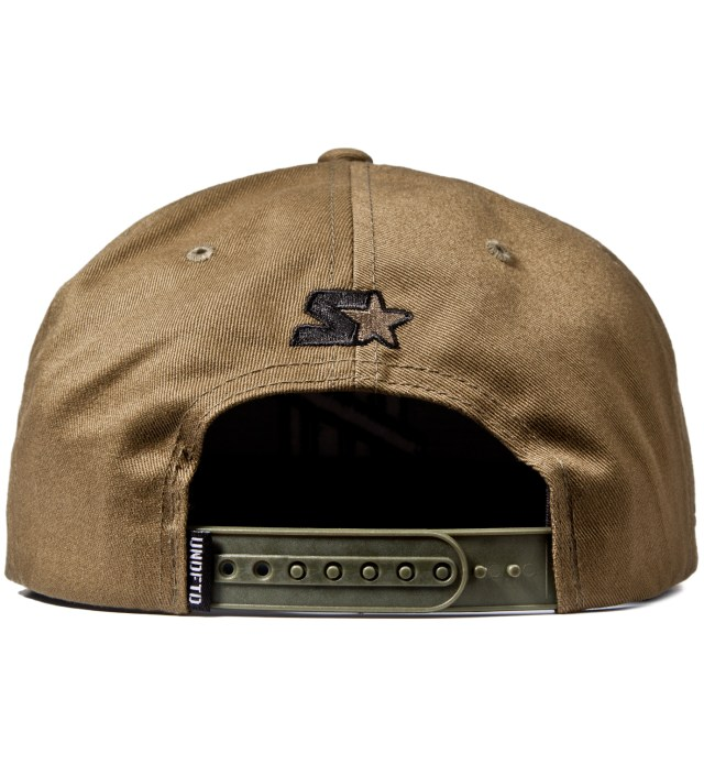 UNDEFEATED Olive 5 Strike Ace Starter Cap