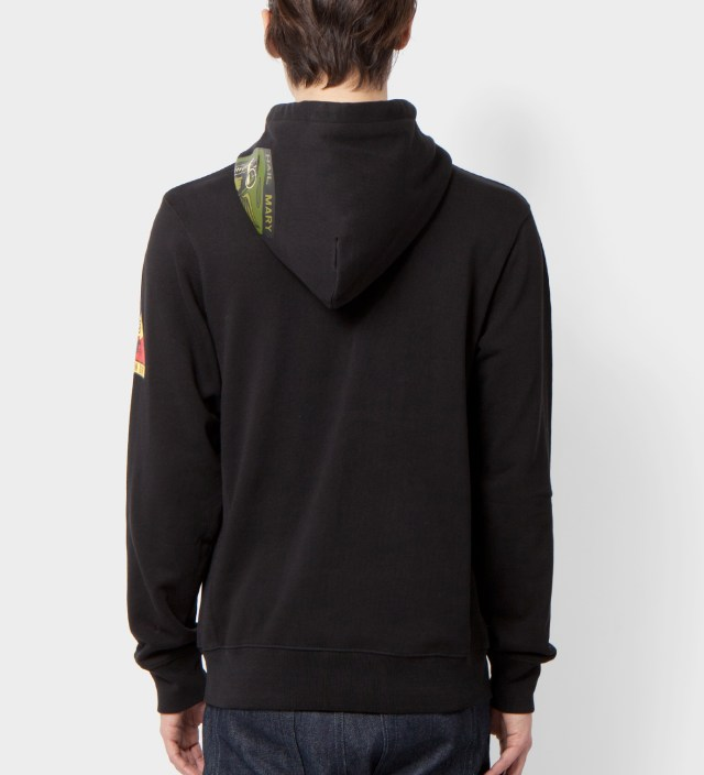 Undefeated Black Hail Mary Zip Hoodie