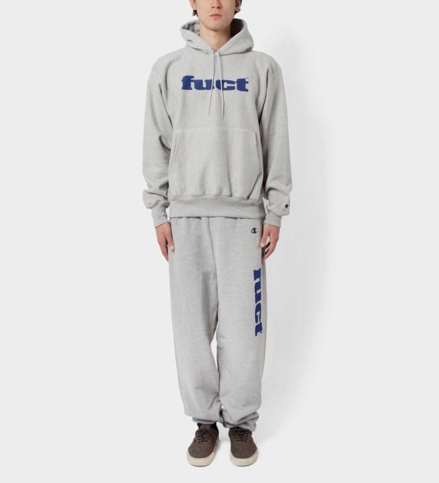 FUCT Grey OG Logo Sweat Suit